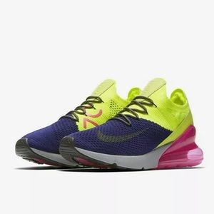 Nike Air Max 270 Flyknit Men's Shoes Sz 13
